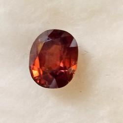 Zirkon růžovočervený 2,90 ct