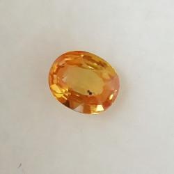 Safír oranžový 0,70 ct Songea